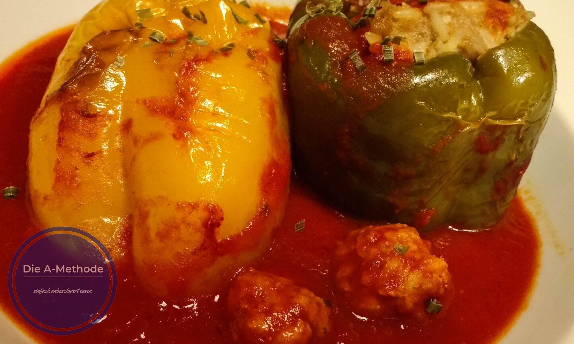 gefüllte Paprika